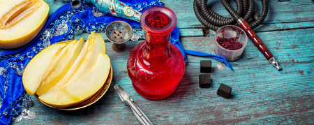Melon variety of hookah tobacco and smoking accessories