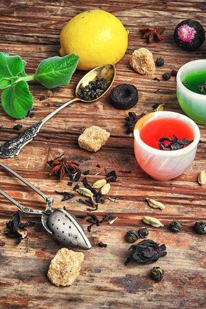 fragrant herbal tea