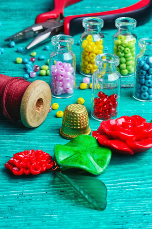 Hobby crafts of beads