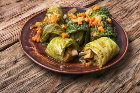 cabbage rolls Imagens