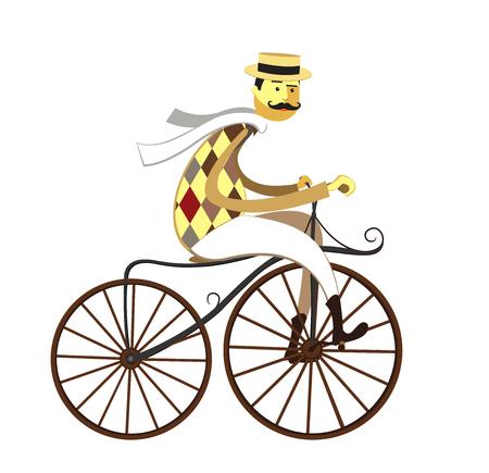 Retro bicycle. Reklamní fotografie - 50232411