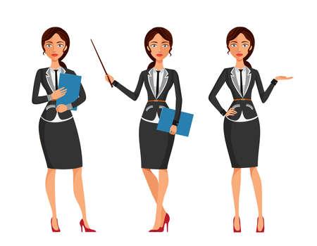 business: business woman Illustration