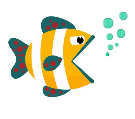 Fish Icon Vector.