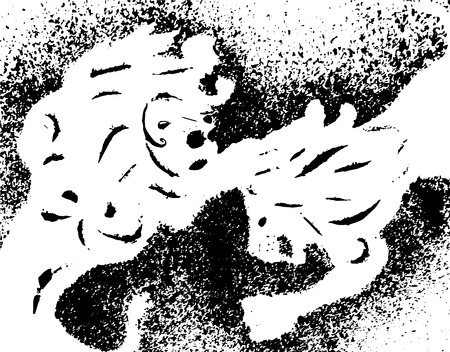 Lion. Lions fighting Vector Illustration