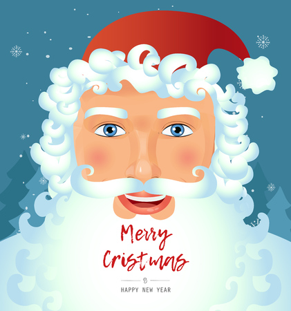 Santa Claus face Illustration