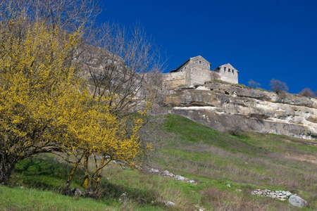 Ancient city karaite Chufut-kale, Ukraine, Crimea Stock Photo - 9141070