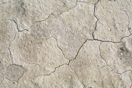 The texture is dry waterless land with cracks