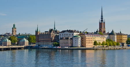 stan: Gamla Stan from the water