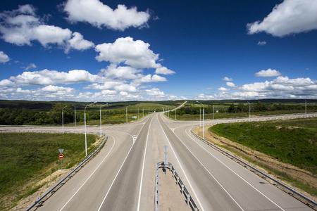 crossroad: Cruce de caminos Foto de archivo