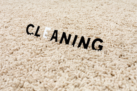 dirty carpet: the image of the cleaning carpet