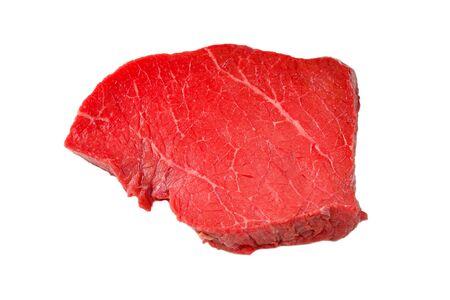 Beef steak isolated on white background. Stok Fotoğraf - 131349674