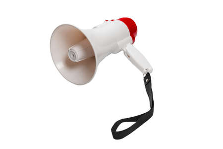 Megaphone isolated on a white background. Imagens