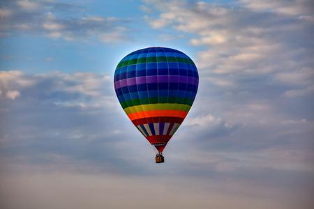 Zheleznovodsk. Airshow. Hot air balloon rides