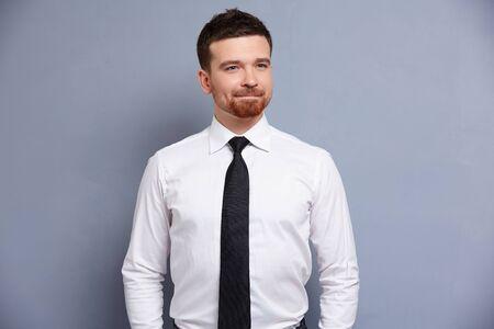 businessman in white shirt Foto de archivo