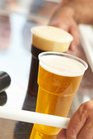 draught: Draught beer Stock Photo