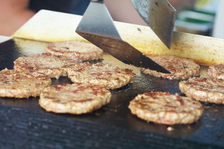 cutlets: Grilled cutlets fried