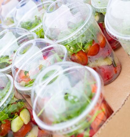 picnic food: takeaway salads