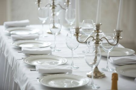 decorated: decorated table