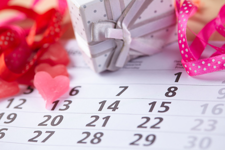 14: Gifts for February 14 on the calendar