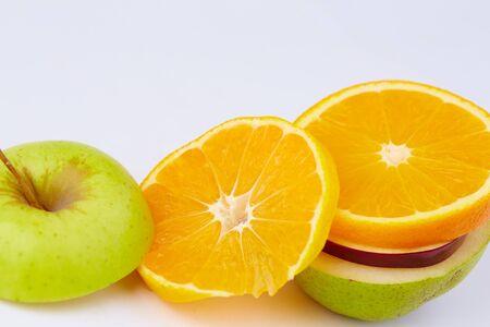 the cut: cut fruits