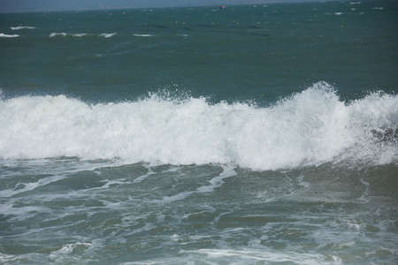 ocean and sea: waves on the beach