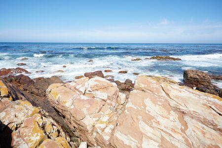 rocky: Rocky coast Stock Photo