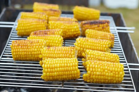 grill: Corn on the grill