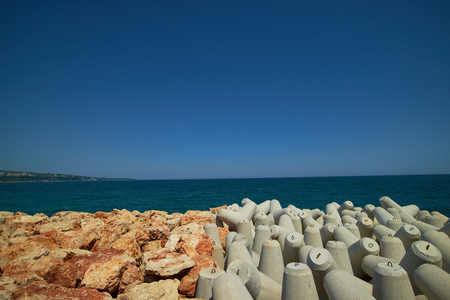 tetrapods on the Black Sea