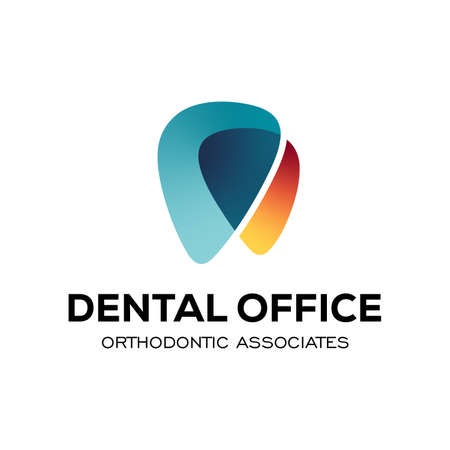 Dental Clinic Logo Design Dentist LogoTooth abstract Linear Dentist stomatology