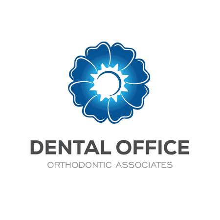 Dental Clinic Logo Design Dentist Logo Tooth abstract Vettoriali
