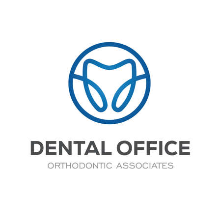 Dental Clinic Logo Design Dentist Logo Tooth abstract Spiral