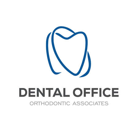 Dental Clinic Logo Design Dentist Logo Tooth abstract Linear