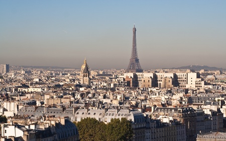 View of Paris. France photo