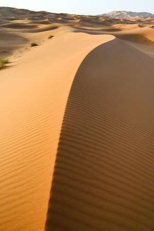 Moroccan desert dune background photo