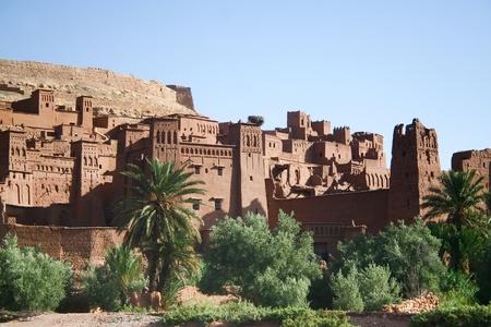 The Kasbah Ait ben haddou in Morocco Reklamní fotografie