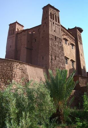 The Kasbah Ait ben haddou in Morocco Stock Photo