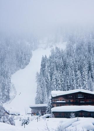 Ski resort Madonna di Campiglio. Italy
