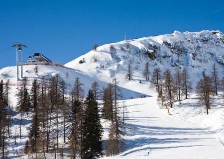 Ski resort Madonna di Campiglio. Italy  photo