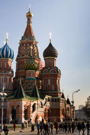 Russia; Moscow; Red Square; St. Basil Stock Photo - 10861668