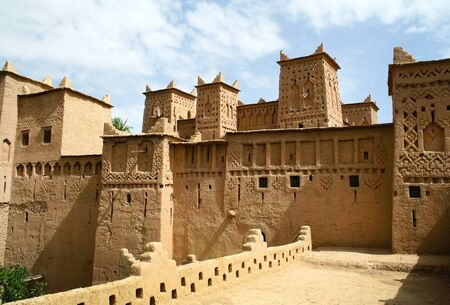 The Kasbah in Morocco photo