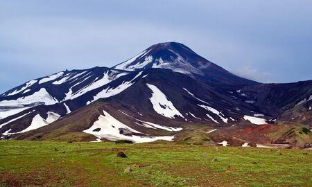 kamchatka: Kamchatka; volcano Avachinsky Stock Photo