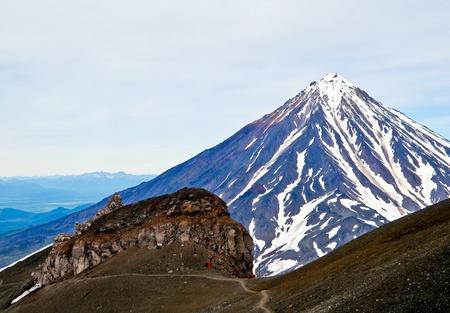 Vulcan Koryakskiy on the Kamchatka photo
