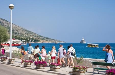 brac: City Bol. The island of Brac. Croatia