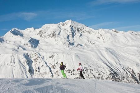 Ski resort  Hohrgurgl. Austria photo