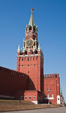 The Spasskaya Tower of Moscow Kremlin photo