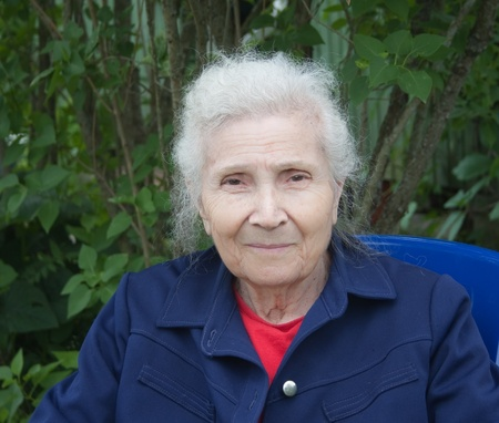 Portrait of an elderly woman Reklamní fotografie