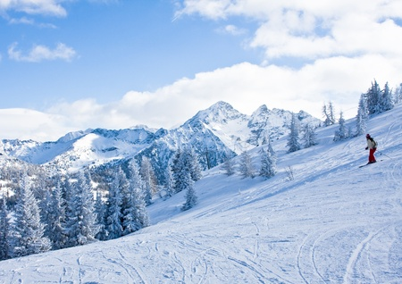 Ski resort Schladming . Austria Stock Photo - 11855439