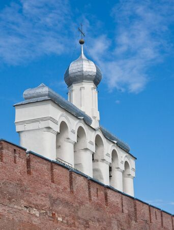 Russia. Novgorod the Great. Belltower Stock Photo - 11855494
