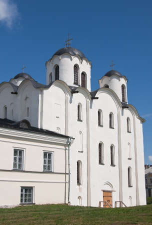 St. Nicholas Cathedral, Yaroslavs Court. Novgorod the Great. Russia photo