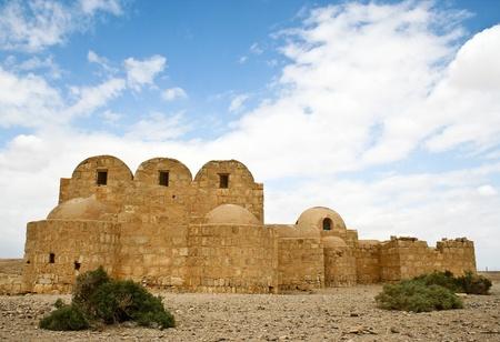 Qasr Amra desert castle  Jordan